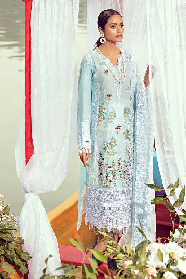 2811-SAPPHIRE EMBROIDERED LAWN UNSTITCHED
