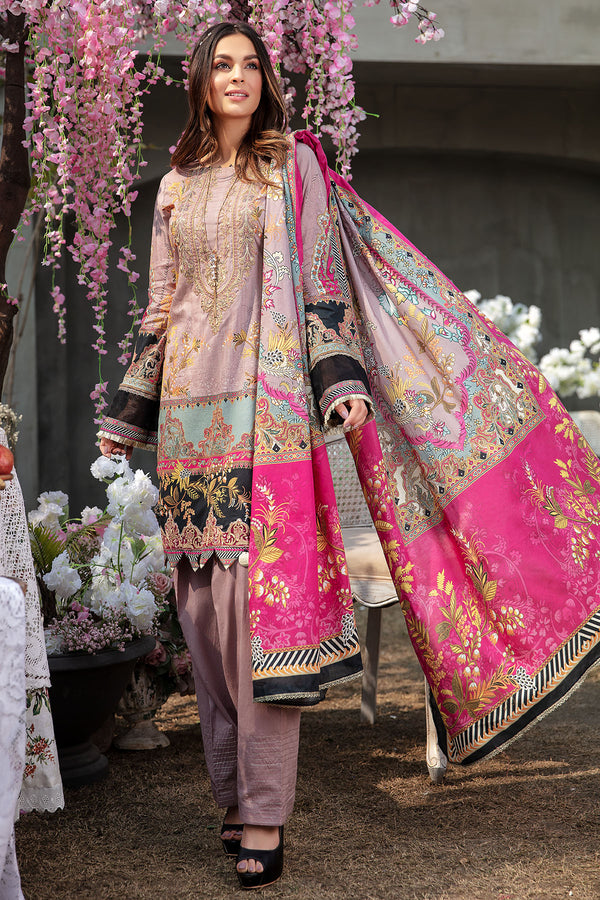 2814-ROSE-CLAIR DIGITAL PRINTED LAWN UNSTITCHED