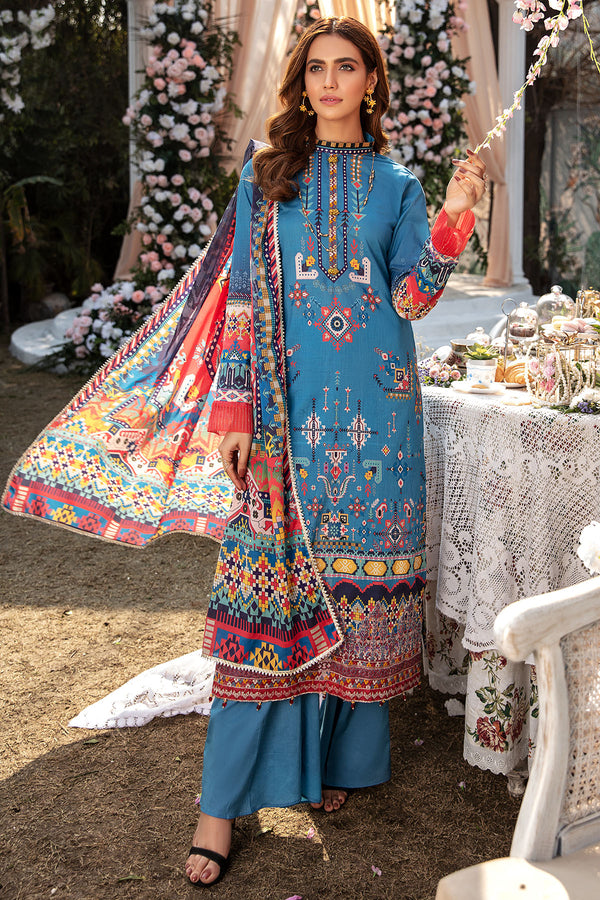 2818-TRIBAL-FANTASY DIGITAL PRINTED LAWN UNSTITCHED