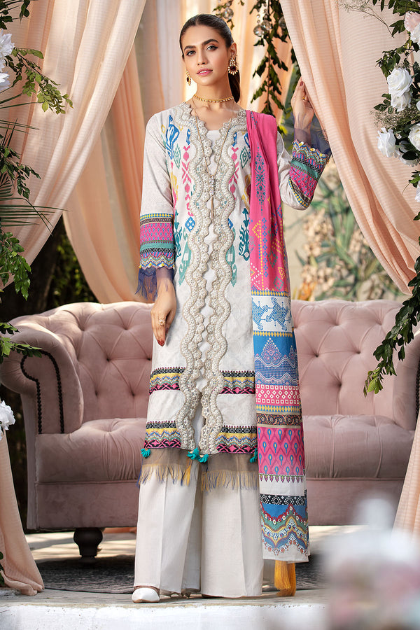 2824-IKAT-MYSTERY DIGITAL PRINTED LAWN UNSTITCHED