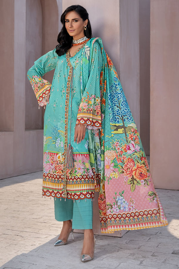 2833-PRINT-A DIGITAL PRINTED LAWN UNSTITCHED