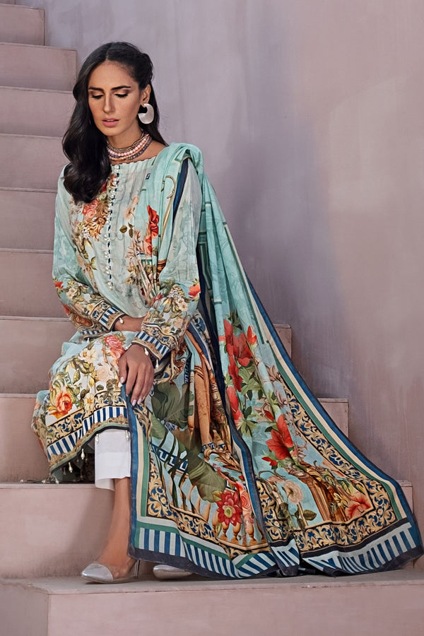 2837-PRINT-A DIGITAL PRINTED LAWN UNSTITCHED