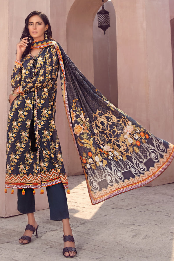 2840-PRINT-A DIGITAL PRINTED LAWN UNSTITCHED