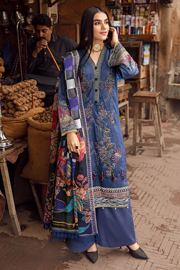 2876-ROYAL-SNOW DIGITAL PRINTED LAWN UNSTITCHED