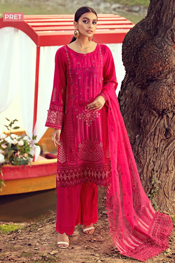 2812-FASCIA EMBROIDERED LAWN STITCHED