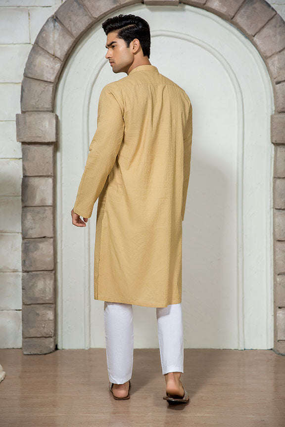 0013-CALICO MEN KURTA JACQUARD STITCHED
