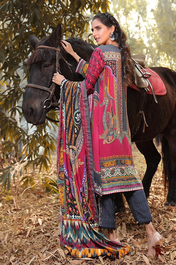 2399-EXOTICA DIGITAL PRINTED LINEN STITCHED