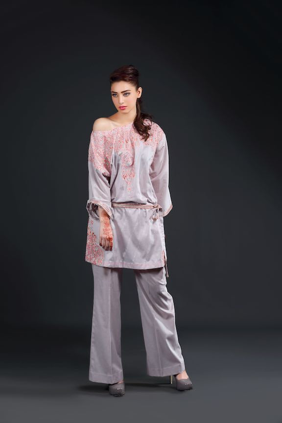 1470-LILAC-SKIN EMBROIDERED LAWN UNSTITCHED