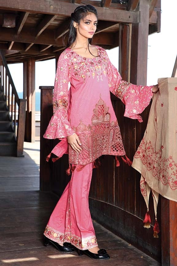 1573-COTTON-CANDY EMBROIDERED LAWN UNSTITCHED