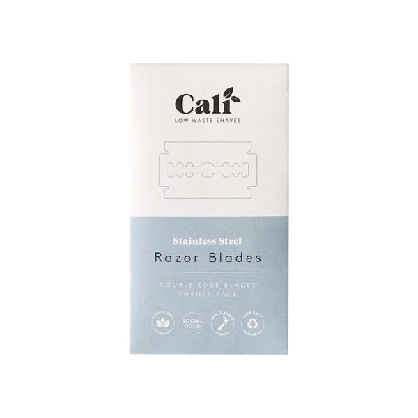 Caliwoods safety razor blade refill pack