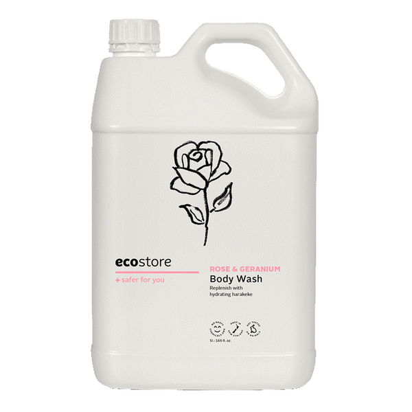 ecostore rose and geranium body wash
