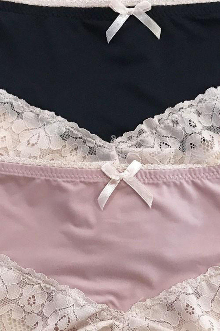 Daisy Lace Cheeky Panties