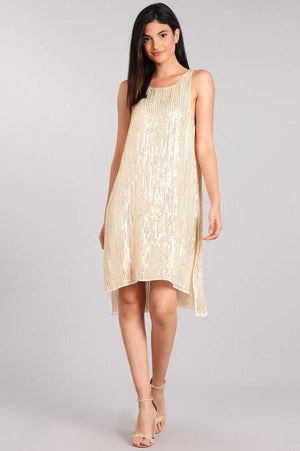Gatsby Golden Sequin Dress