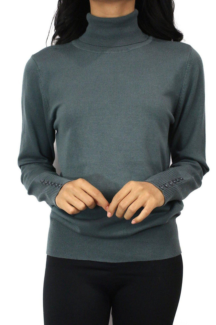 Ann Marie Turtle Neck - Multiple Colors