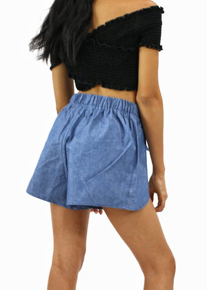 Small Town Girl - Denim Shorts