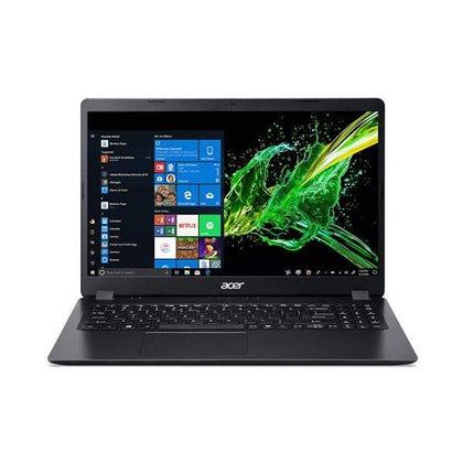 "Acer Laptops Black / Brand New / 3 Years Acer Aspire 3 NX.HS5EM.00K Laptop, 15.6"" FHD, Intel Core I3 1035G1, 4GB Ram, 1TB HDD, Graphics: Shared VGA, EN/AR Keyboard"