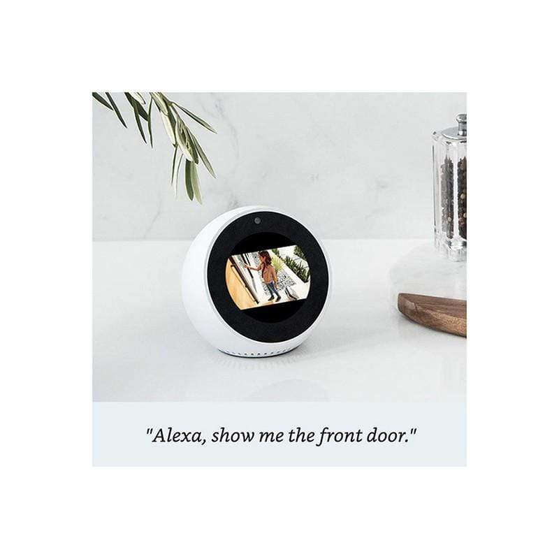 Amazon Echo Spot - Smart Alarm Clock with Alexa