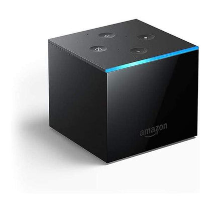 Amazon Streaming Media Players Black / Brand New Fire TV Cube | Voice-controlled streaming device with Alexa | 4K Ultra HD | 2019 release