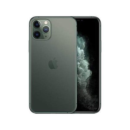 apple Mobile Phone Midnight Green / 64GB Apple, iPhone 11 Pro, 5.8″ Super Retina XDR OLED, A13 Bionic, 4GB Ram, Triple 12MP+12MP+12MP Rear Cam, Dual 12MP Selphie Cam