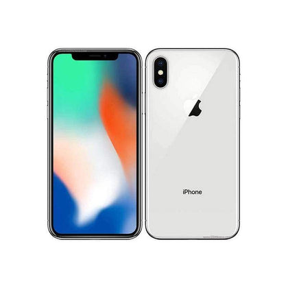 Apple, iPhone X, 256GB, 5.8″ OLED Display, Hexa-core, 3GB Ram, Dual 12MP +12MP Rear Cam, Dual 7MP Selphie Cam