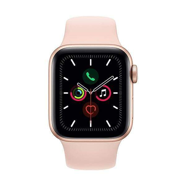 Apple Watch Series 5, 40mm, GPS, Aluminum Case with Sport Band, watchOS 5