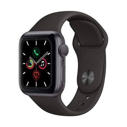 Apple Smartwatch, Smart Band & Activity Trackers Space Gray Apple Watch Series 5, 40mm, GPS, Aluminum Case with Sport Band, watchOS 5