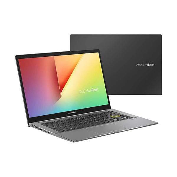 Asus Laptops Indie Black / Brand New / 1 Year Asus Vivobook S14 S433FL Laptop, Intel i7-10510U 1.8 GHz, 8GB RAM, 512GB SSD, Shared VGA, 14 inches Full HD, Fingerprint, Windows 10, Eng-Arb-KB