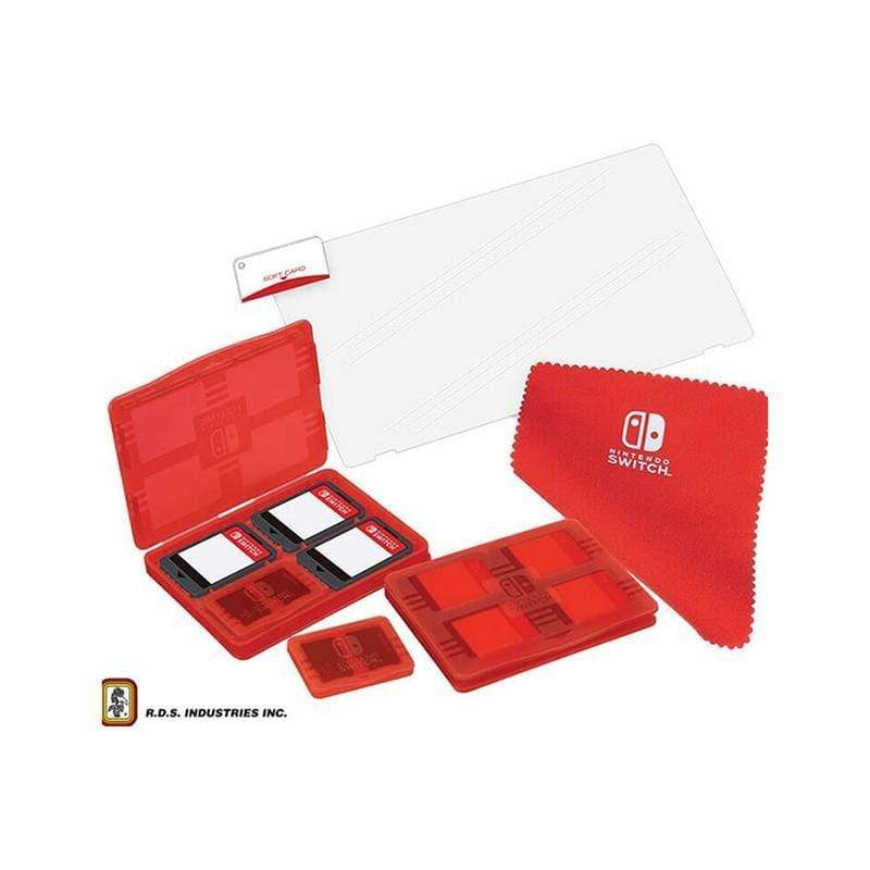 Official RDS ™ Protection & Storage Pack for Nintendo Switch ™ - NNS10