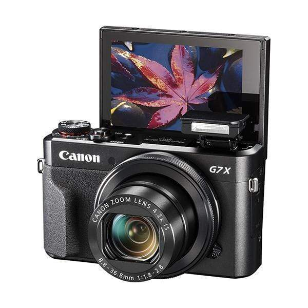 Canon PowerShot G7 X Mark II Digital Camera (Black)