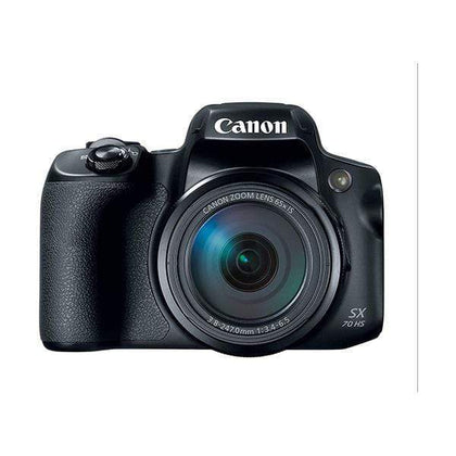 Canon Powershot SX70 HS 20.3MP Digital Camera (Black) 65x Optical Zoom Lens 4K Video 3-inch LCD Tilt Screen