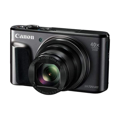 Canon PowerShot SX720 HS 20.3MP Digital Camera (Black) 40x Optical Zoom