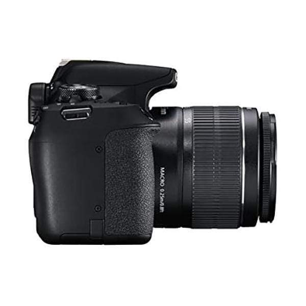 Canon EOS 2000D 24MP Digital SLR Camera (Black) + 18-55mm III Lens + 64GB Memory Card + Carry Bag + Tripod