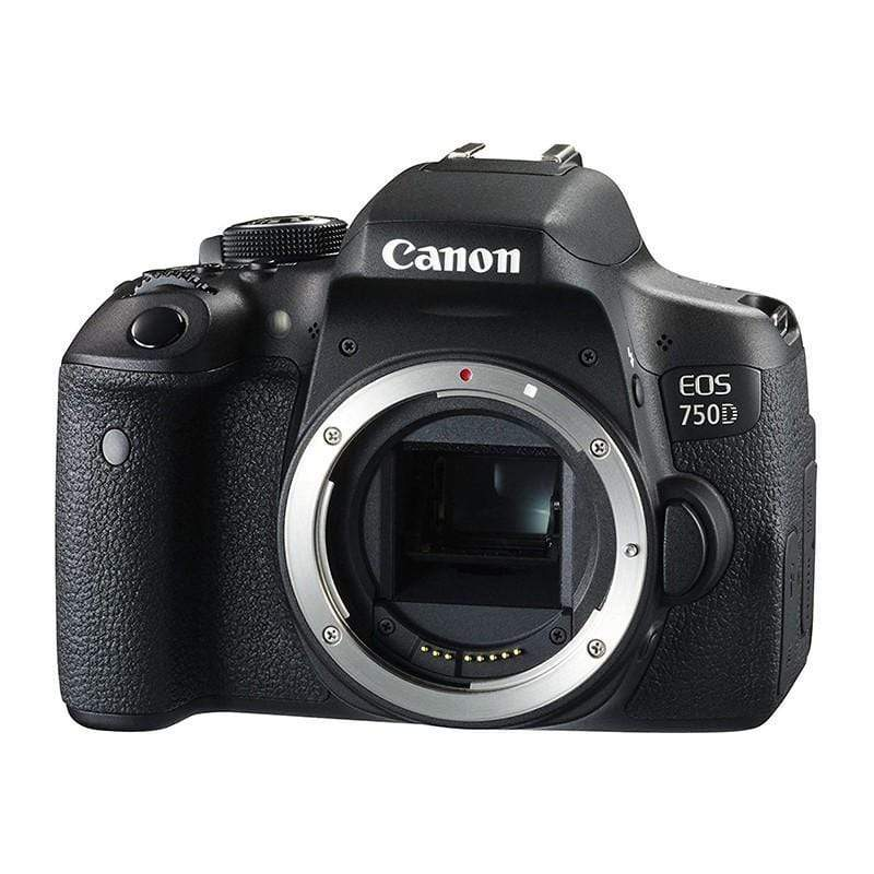 Canon EOS 750D 24.2MP Digital SLR Camera (Black) + 18-55 III Lens + Memory Card 32GB + Carry Bag + Tripod