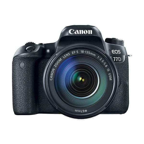 Canon EOS 77D Digital SLR Camera + 18-55mm STM Lens