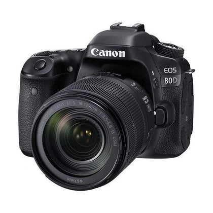 Canon EOS 80D Digital SLR Camera (Black) + 18-135mm Lens