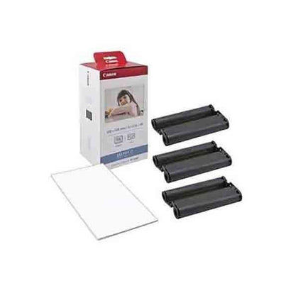 Canon KP-108IN-KP108 Color Ink Paper Includes 108 Ink Paper Sheets+Ink Toners for Canon Selphy CP1300