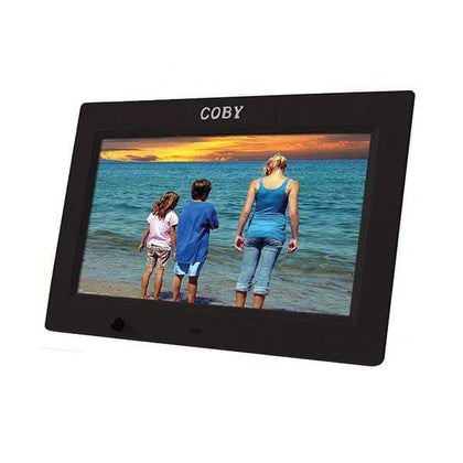 Coby Digital Photo Frame 10.1 inch with Remote Clock Calendar Alarm - DP1025S