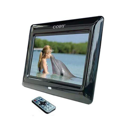 Coby Digital Photo Frame 7 inch with Remote Clock Calendar Alarm - DP705