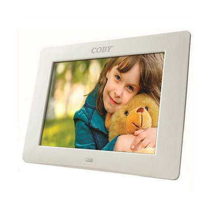 Coby Digital Photo Frame 8 inch with Remote Clock Calendar Alarm - DP807