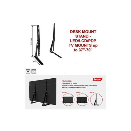 Conqueror Desk Mount Stand for LED, LCD, Plasma TV 37