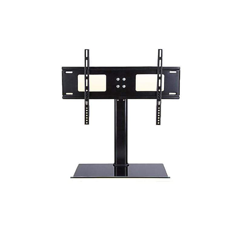 Conqueror Table Stand with Articulation for LED-LCD-Plasma TV 37''-50'' +Shelf for DVD player-AV-cable box-TV Accessories-H146