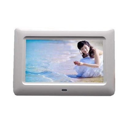 Conqueror Digital Photo Frame 7 inch with Remote Clock Calendar Alarm - M215