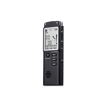 Conqueror M240 4GB Digital Voice Recorder (280 HRS) with MP3 recording and playback