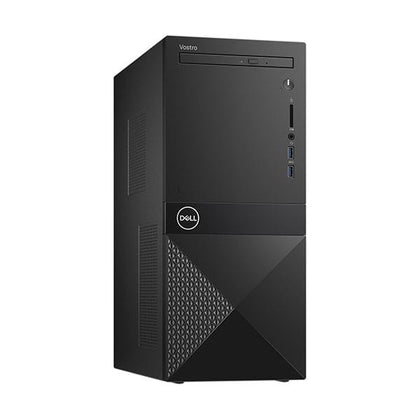 Dell Branded Desktops Black / Brand New / 1 Year Dell Vostro 3671, Core I5-9400, 4GB DDR4, 1TB HDD, DVDRW, USB Keyboard & Mouse, Power Supply 290W Real