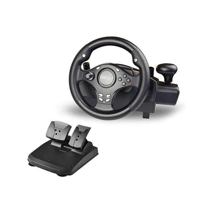 DOYO 270 Degree Rotation Pro Sport Racing Wheel for Multi Platform Compatible PS3-PS4-XBOX ONE-XBOX360-NS SWITCH-Android