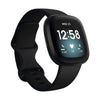 Fitbit Smartwatch, Smart Band & Activity Trackers Black/Black / Brand New / 1 Year Fitbit Versa 3 Health & Fitness Smartwatch with GPS, 24/7 Heart Rate, Alexa Built-in, 6+ Days Battery, Black/Black, One Size (S & L Bands Included)