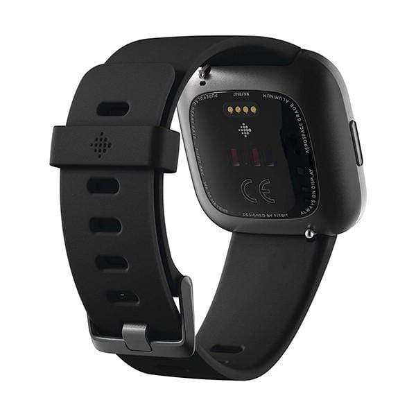 Fitbit Versa 2 Health & Fitness Smartwatch Heart Rate,Music,Alexa Built-in,Sleep & Swim Tracking,One Size (S & L Bands Included)