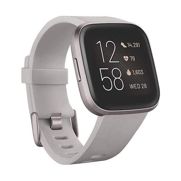 Fitbit Smartwatch, Smart Band & Activity Trackers Fitbit Versa 2 Health & Fitness Smartwatch, NFC, Heart Rate,Music,Alexa Built-in,Sleep & Swim Tracking, One Size (S & L Bands Included)