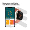 Fitbit Smartwatch, Smart Band & Activity Trackers Fitbit Versa 3 Health & Fitness Smartwatch with GPS, 24/7 Heart Rate, Alexa Built-in, 6+ Days Battery, Black/Black, One Size (S & L Bands Included)
