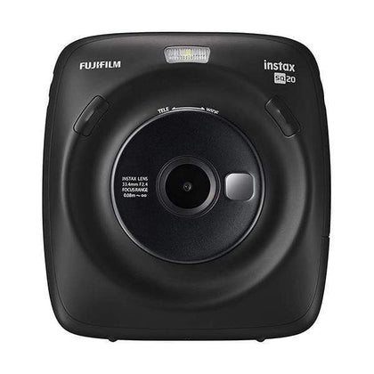 Fujifilm Point & Shoot Black Fujifilm Instax Square SQ20 Hybrid Instant Film Camera